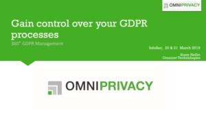 GDPR is there to stay. Are you in control of it?