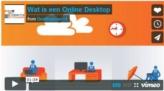 Wat is een online desktop?