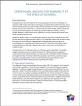 IT Operations analytics: Performance issues snel en proactief aanpakken dankzij inzichten in IT Big Data