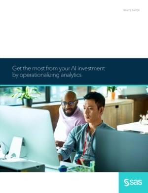 Haal het meeste uit uw AI-investering door analytics te operationaliseren
