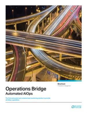 Operations Bridge Automated AIOps