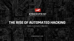 The rise of automated hacking and the effect on your organisation's security