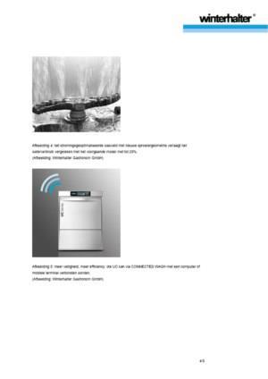 De nieuwe Winterhalter voorlader vaatwasmachine uit de UC-serie - een Masterpiece.