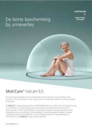 MoliCare met pH 5,5, de beste bescherming bij urineverlies