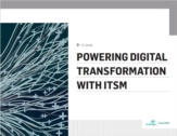 IT Service Management (ITSM) strategie als basis voor digitale transformatie
