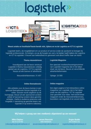 Hét complete mediapakket voor een succesvolle Logistica / ICT & Logistiek
