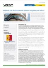 Back-up en Recovery voor de VMware-infrastructuur van de Provincie Zuid-Holland