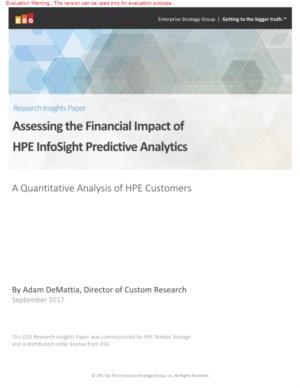 Onderzoek: de financiële impact van predictive analytics uiteengezet