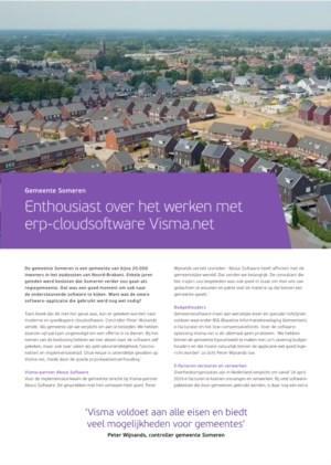 Gemeente Someren enthousiast over het werken met nieuwe erp-cloudsoftware