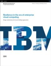 Data resilience in het cloud computing-tijdperk