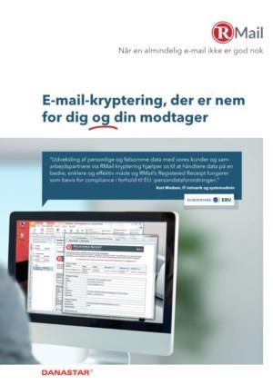 E-mail-kryptering der er nem for dig og din modtager