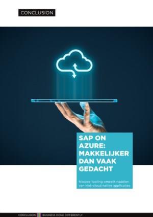 SAP on Azure: Makkerlijker dan vaak gedacht