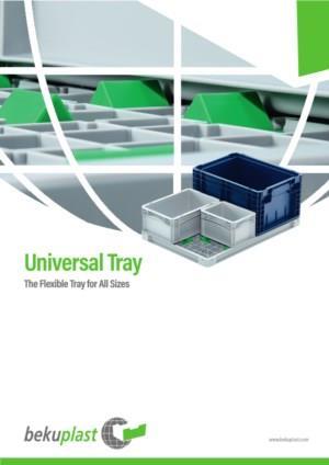 Eén tray voor alle verpakkingen