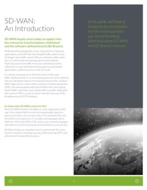 SD-WAN: An Introduction