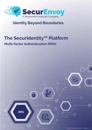 SecurIdentity - Multi-Factor Authentication (On-Premise)