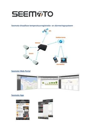 Seemoto temperatuurregistratie- en alarmeringssysteem