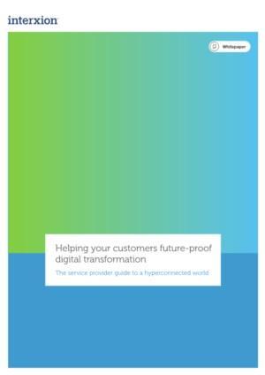 Help uw klanten digitale transformatie geschikt maken voor de toekomst