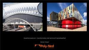 Gevelrenovatie en -transformatie middels technisch textiel