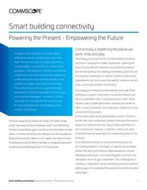 De toekomst van de werkplek: alles draait om connectiviteit