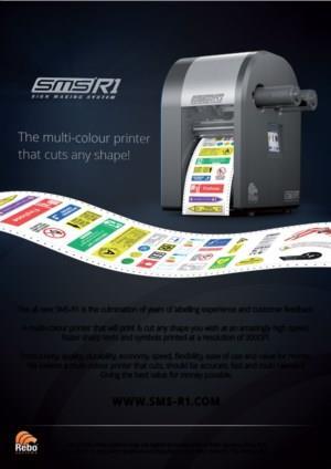 SMS-R1 | Meerkleuren printers voor labels in elke gewenste vorm