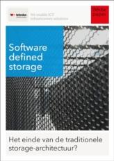 Software defined storage: het einde van de traditionele storage-architectuur?