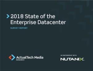 2018: status van het Enterprise Datacenter