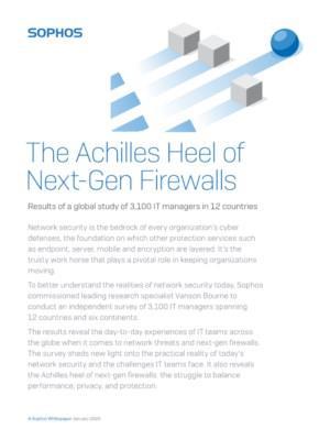 The Achilles Heel of Next-Gen Firewalls