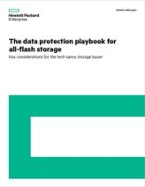 Het data protection playbook voor all-flash storage