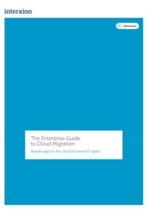 De gids voor Enterprises over cloud migratie