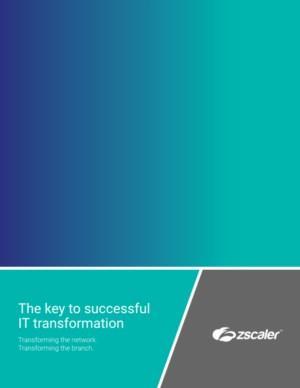 De sleutel tot een succesvolle IT Transformatie