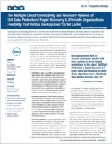 Cloud-connected back-up en recovery: Dell vs. Veritas