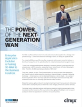 De kracht van Next-Generation WAN: Software-defined WAN in de voorhoede van uw organisatie