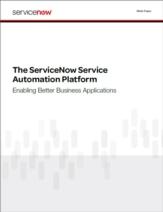 Service management platform voor het creëren, implementeren en managen van custom applicaties