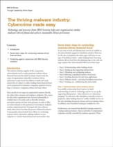 De bloeiende malware-industrie: Cybercrime was nog nooit zo makkelijk