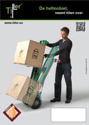 Slimmer tillen met de Tiller®-hefmobiel