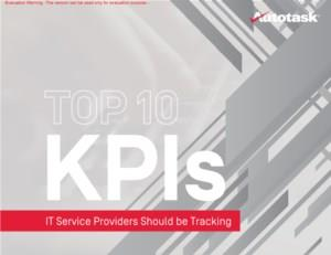 Top 10 KPI's voor IT-serviceproviders