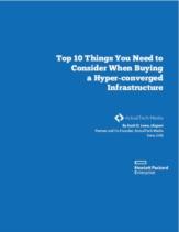 De selectie van een hyper-converged infrastructuur: 10 belangrijke zaken om rekening mee te houden