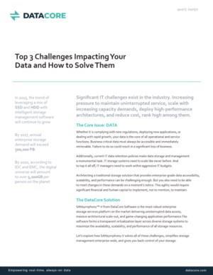 Oplossingen voor de drie voornaamste data-uitdagingen