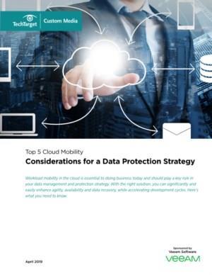 De 5 vragen voor het opstellen van een databescherming strategie