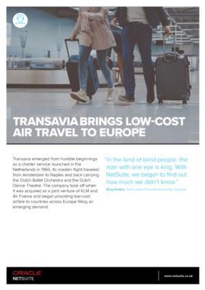 Het succes van Transavia met Cloud ERP