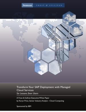 Transformeer uw SAP-implementatie met Managed Cloud Services