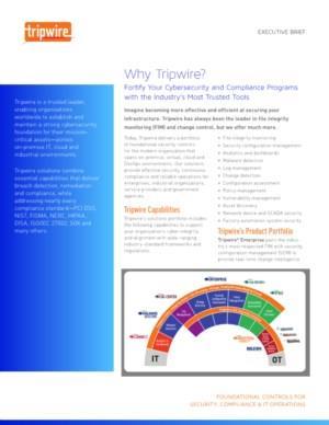 Why Tripwire?