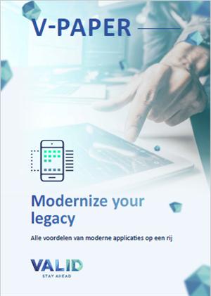 Waarom u uw applicaties moet moderniseren