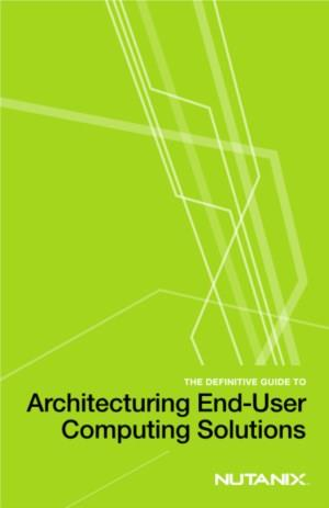 Infrastructuur ontwerp voor VDI en end-user computing (EUC) omgevingen