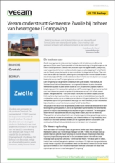 Back-up en Recovery voor de virtuele IT-omgeving van de Gemeente Zwolle