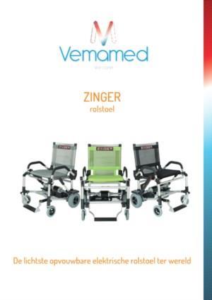 Zinger rolstoel - De lichtste opvouwbare elektrische rolstoel ter wereld