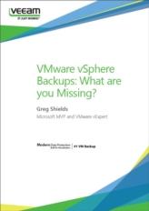 Het VMware vSphere back-up proces: Mist u iets?