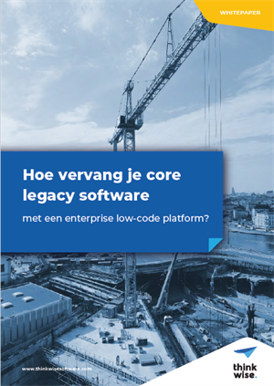 Hoe vervang je core legacy software?