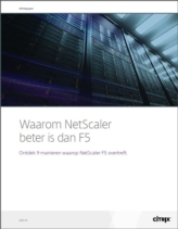 Application Delivery Controllers: Waarom NetScaler beter is dan F5