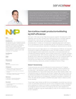 De chaos van succes: IT uitdagingen en oplossingen voor NXP